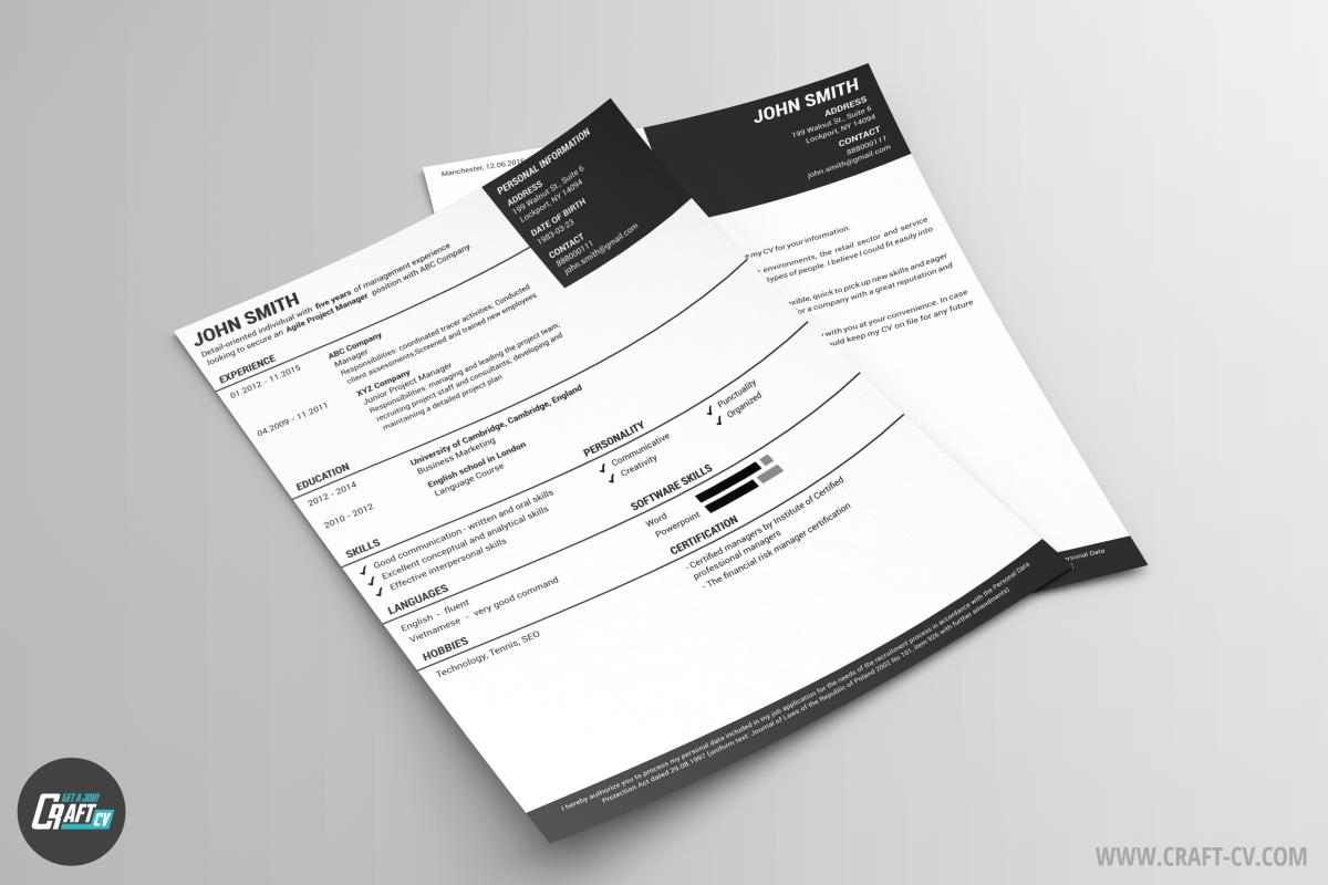 resume sample pandora
