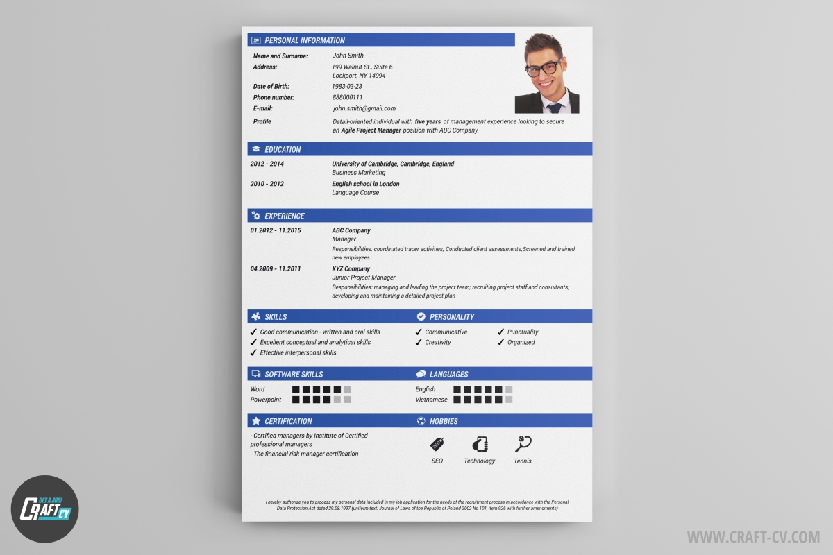 modern is a little bit graphically enriched resume template thanks to the combination of tradition and modern design the resume modern will be suitable - The Resume Builder