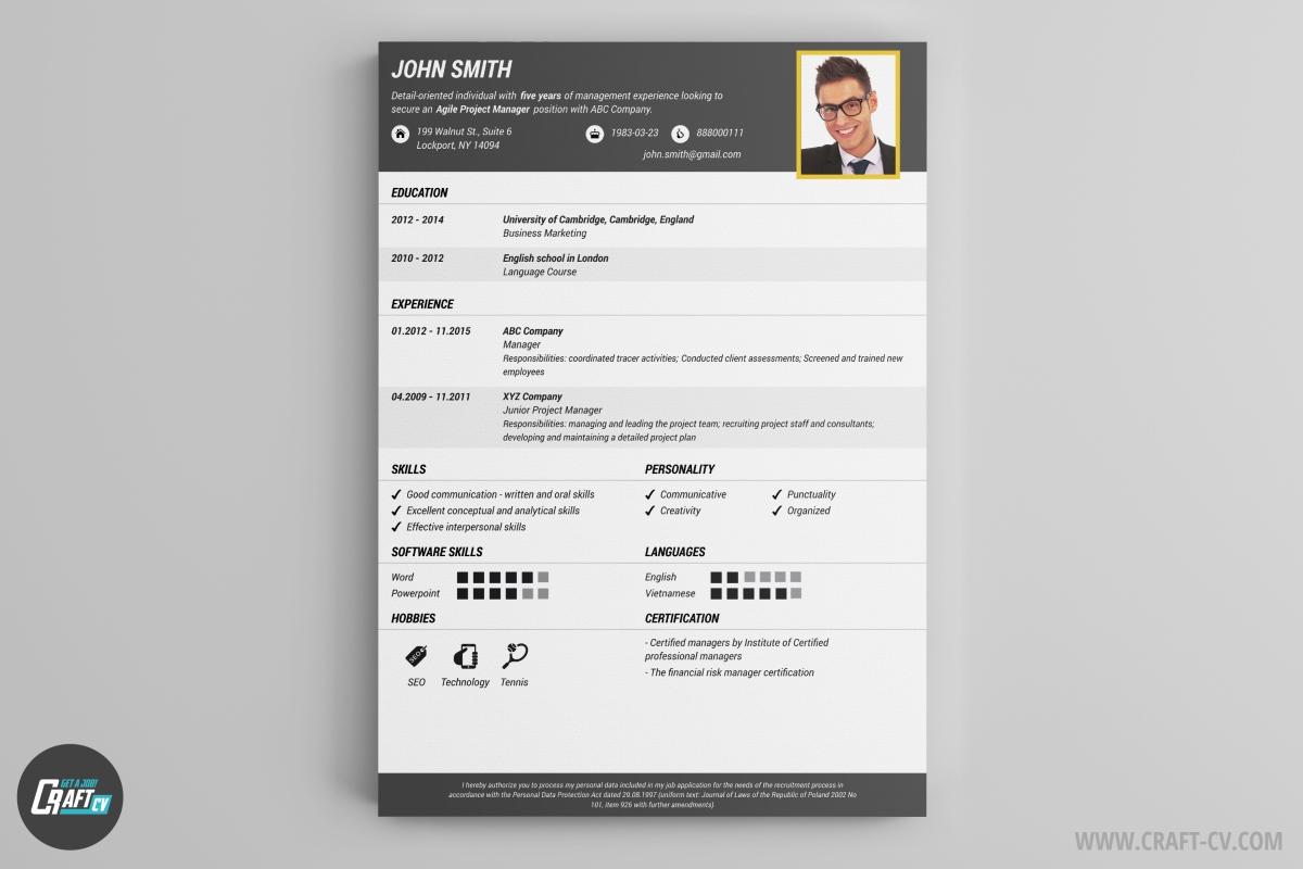 creative resume creator