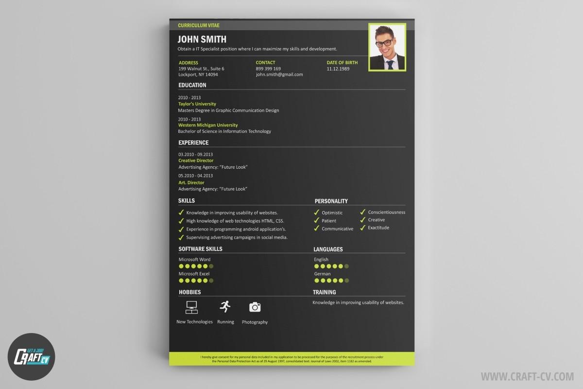 resume builder creative resume