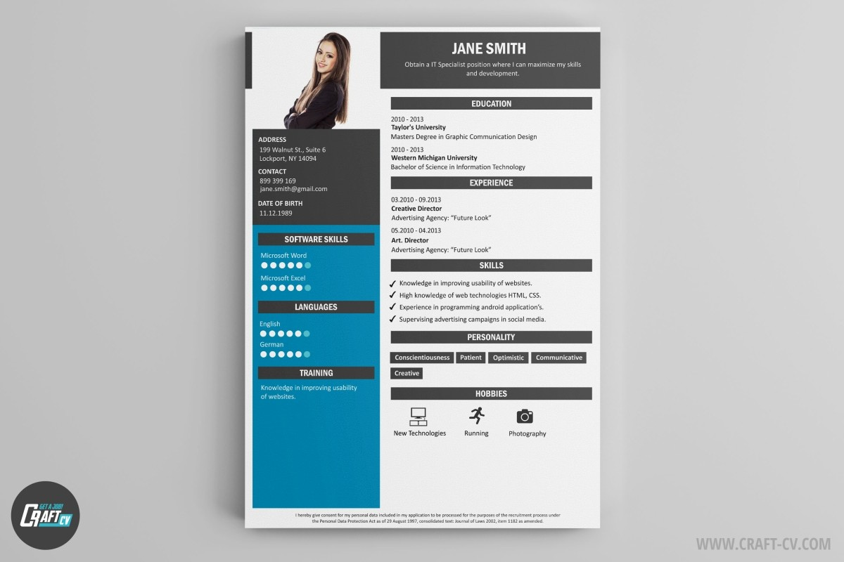Resume Builder Creative Resume Templates