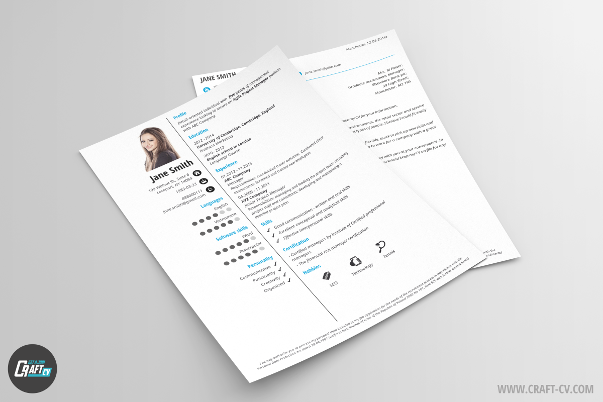 Classic Resume Template Clariss Cover Letter Resume