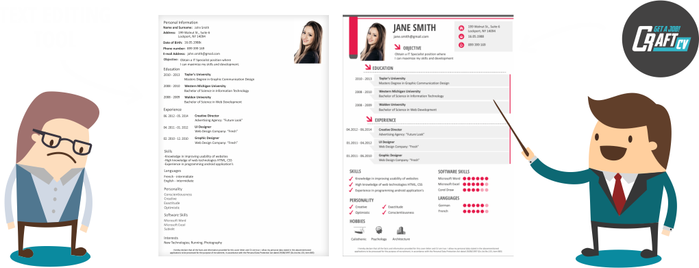 Resume Builder Online - Creative Resume Templates | CraftCv