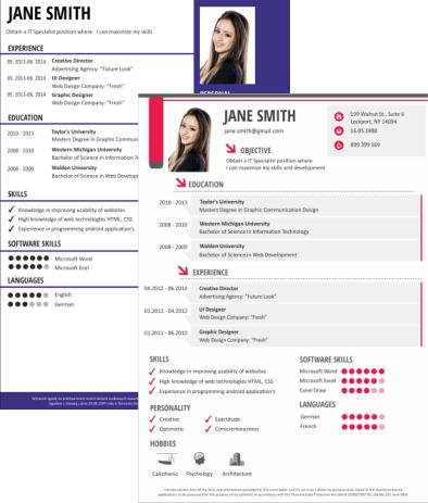 resume maker template