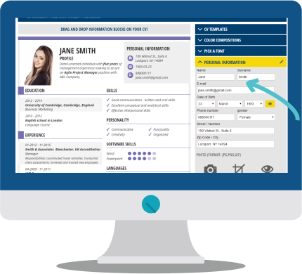 resume builder perfect resume examples craftcv resume makers - Professional Resume Makers