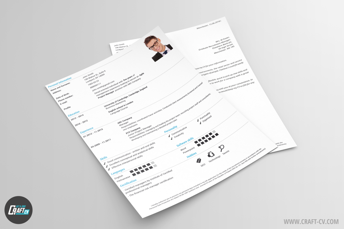 Free Cv Templates Orb  Cv Sample  Craftcv