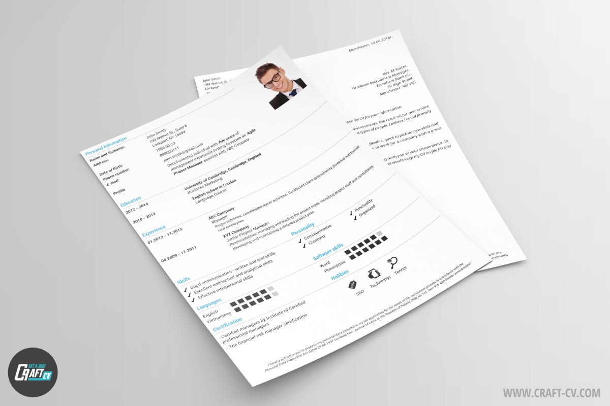 Free CV Templates Orb | CV Sample | CraftCV
