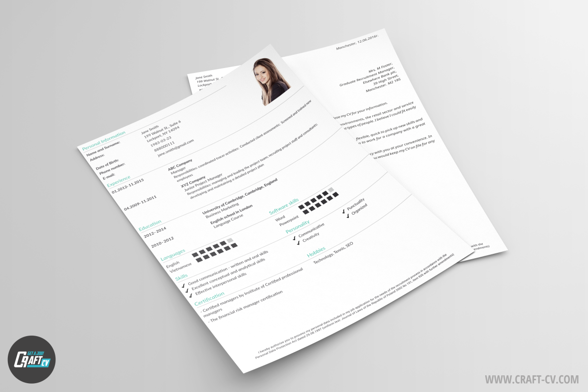 cv templates orb cv sample craftcv classic cv samples