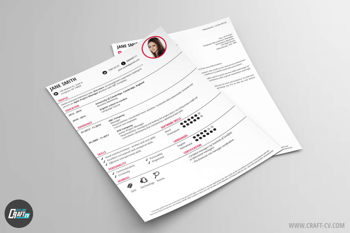 cv sample orb classic cv template craftcv cv sample orb