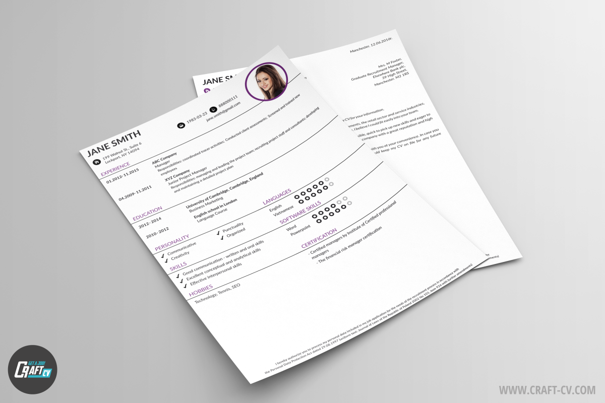 Free CV Orb and Cover Letter