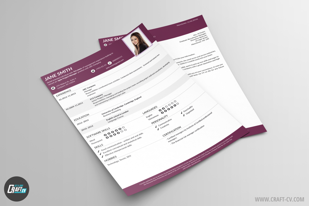Creative Resume Solid