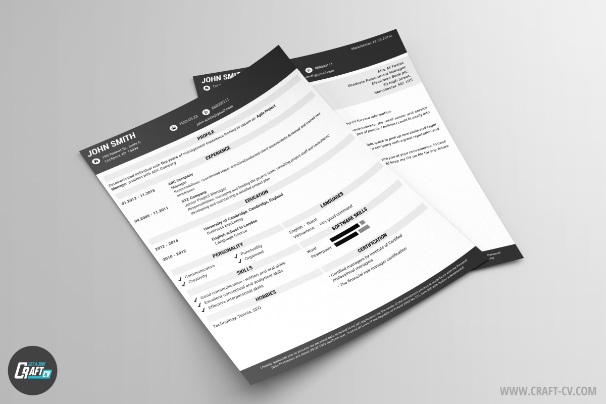 Resume Template Gral