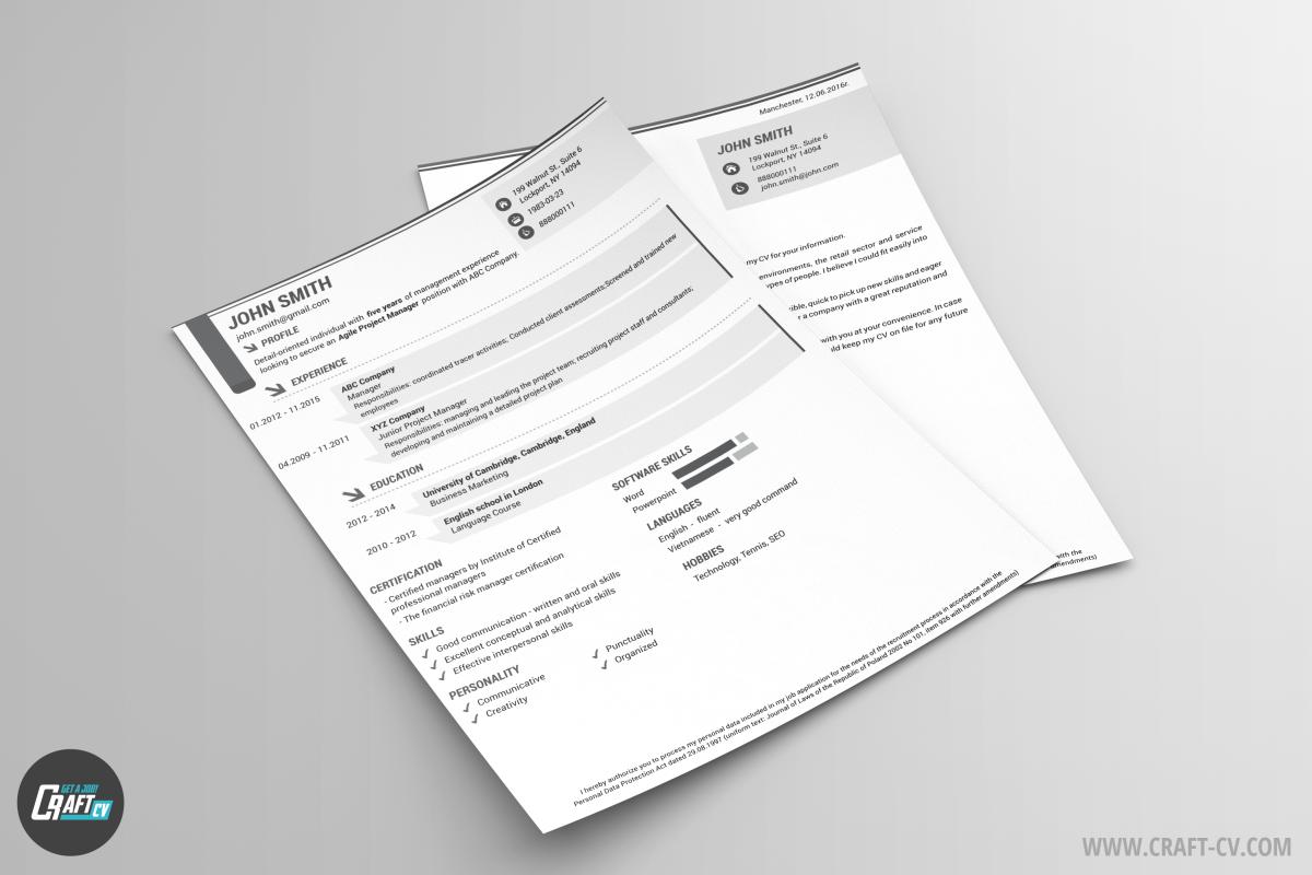management cover letter CREATE AN EFFECTIVE CV