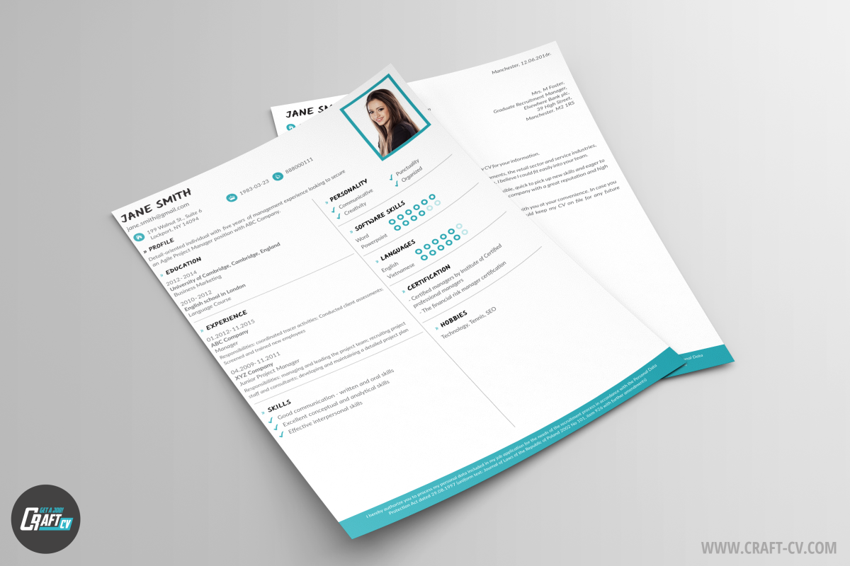 Cv Example  Cv Template Master  Cv Maker  Craftcv