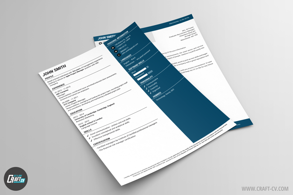 cover letter example marketing CV Examples Creative