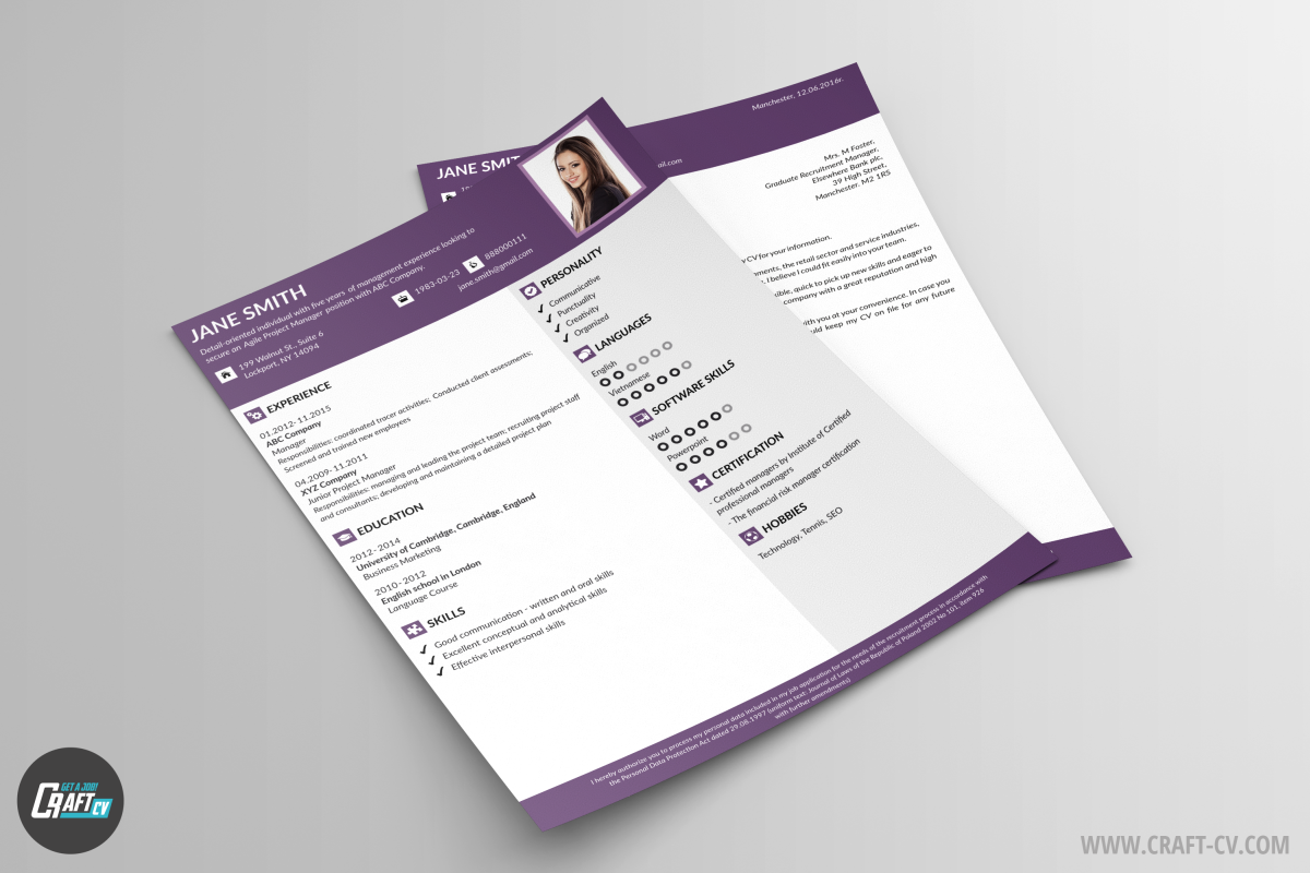 Creative Resume Zeal