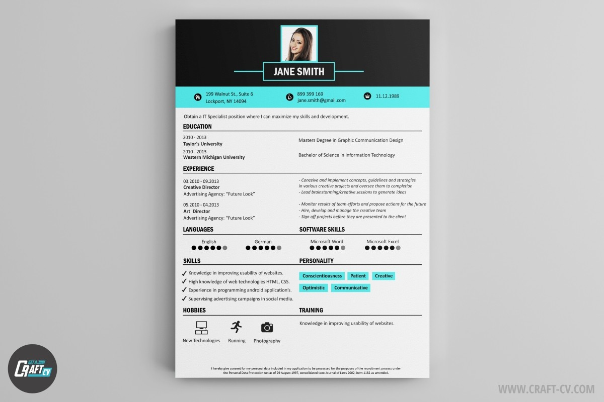 cv graphic template cv graphic template