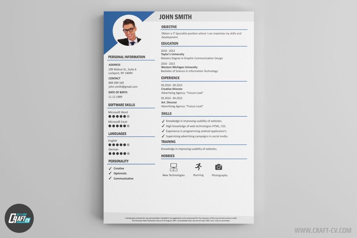 really free resume builder maker professional examples online builder craftcv maker builder - Really Free Resume Builder