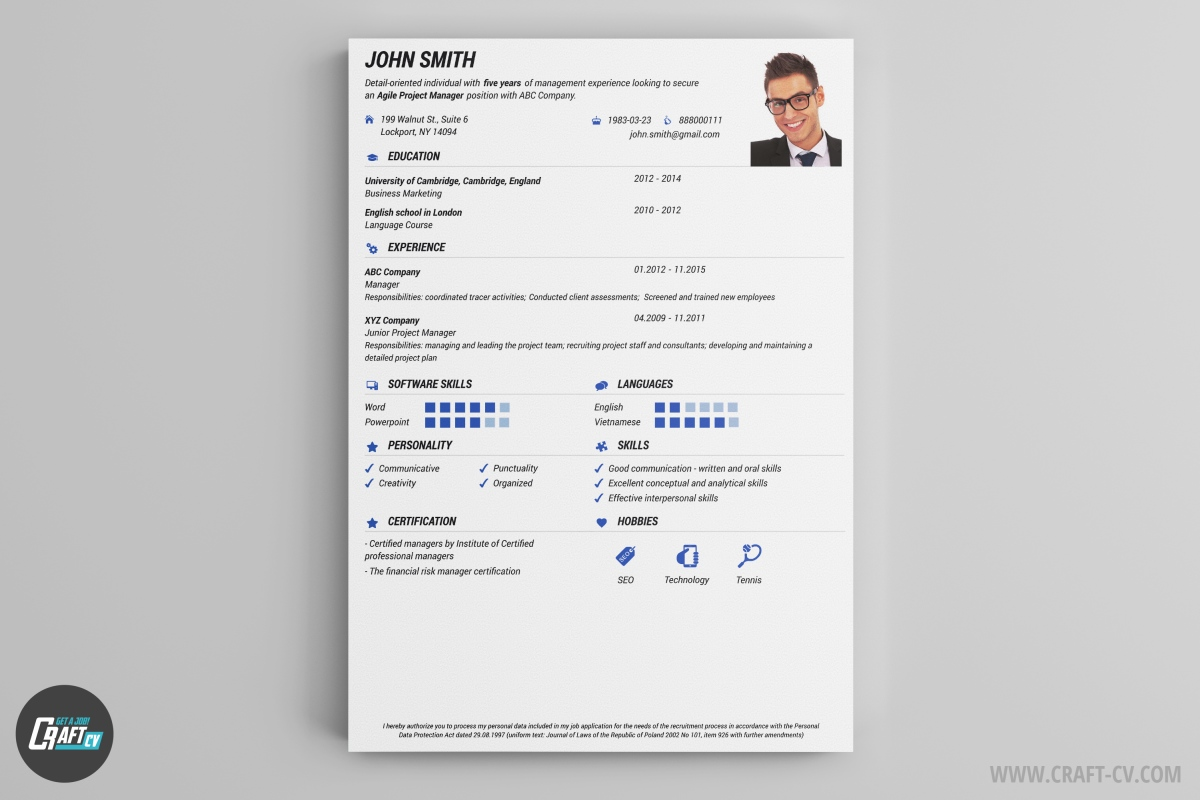 pick this cv sample and create a overwhelming impression get noticed using the wide range of icons and colors