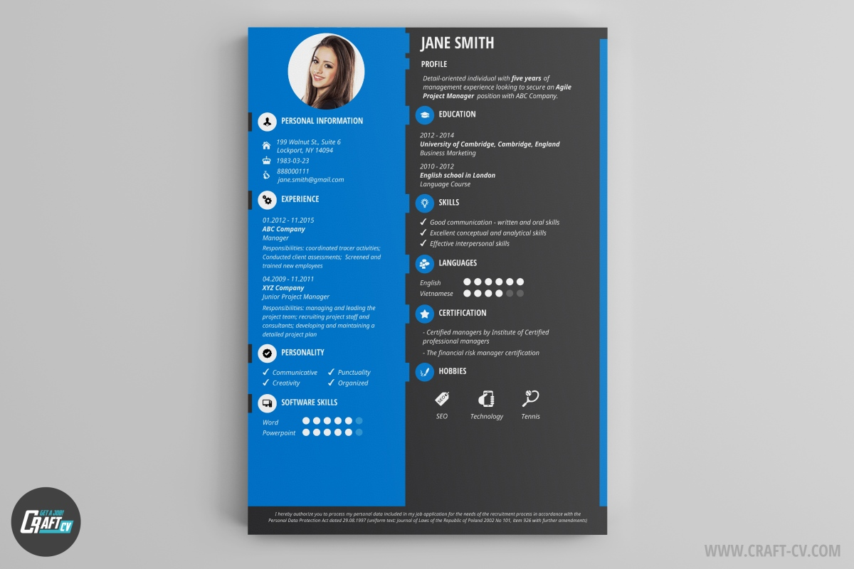 download job resume format%0A cv template designer