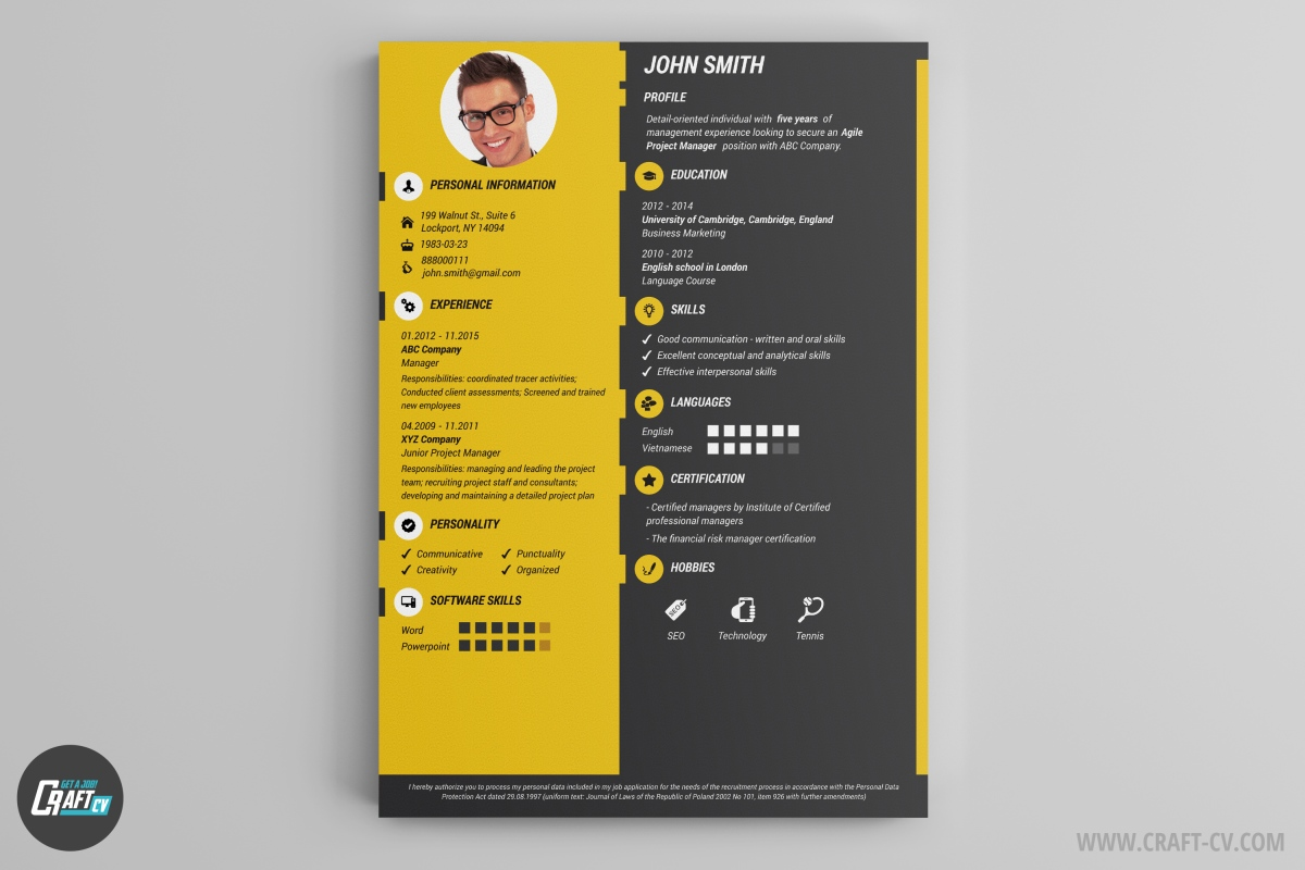 Great Cv Generator Online Within Online Resume Generator