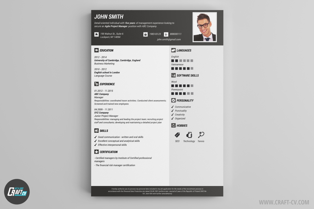 curriculum vitae maker selo l ink co