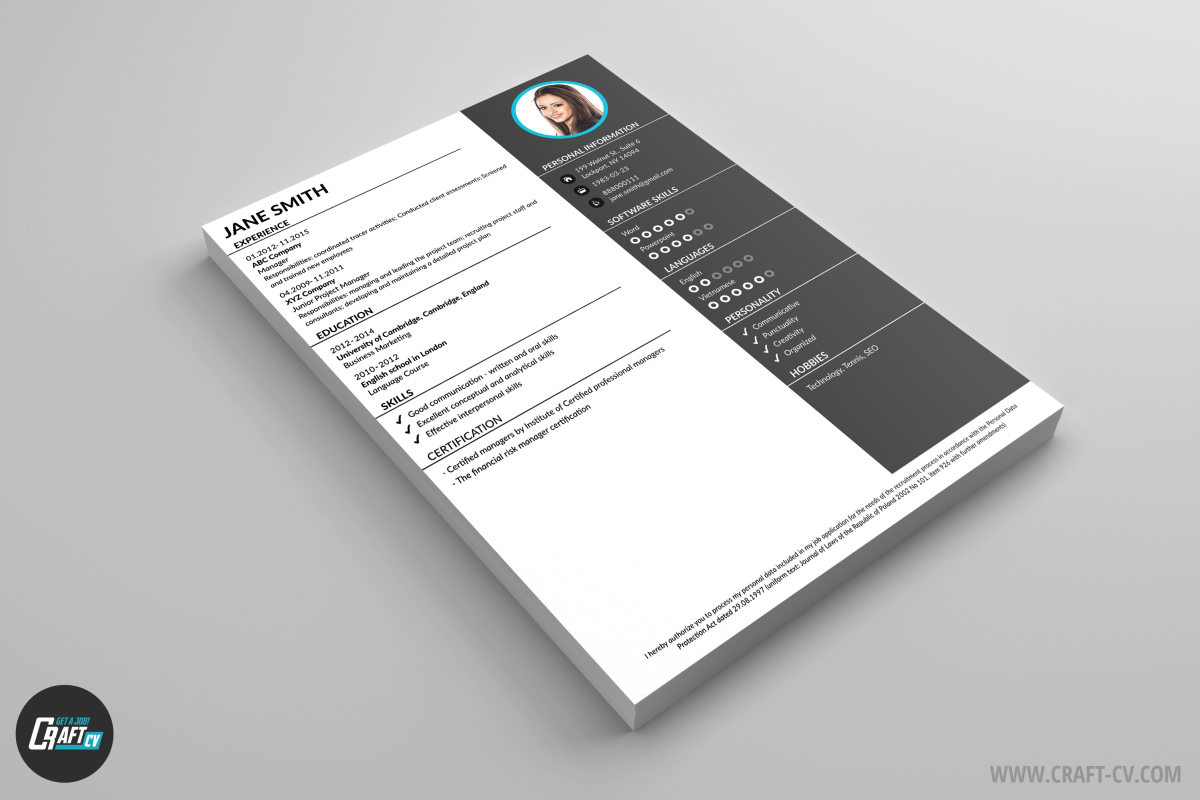 Creador de CV | Modelos de CV | Plantillas de CV | CraftCv