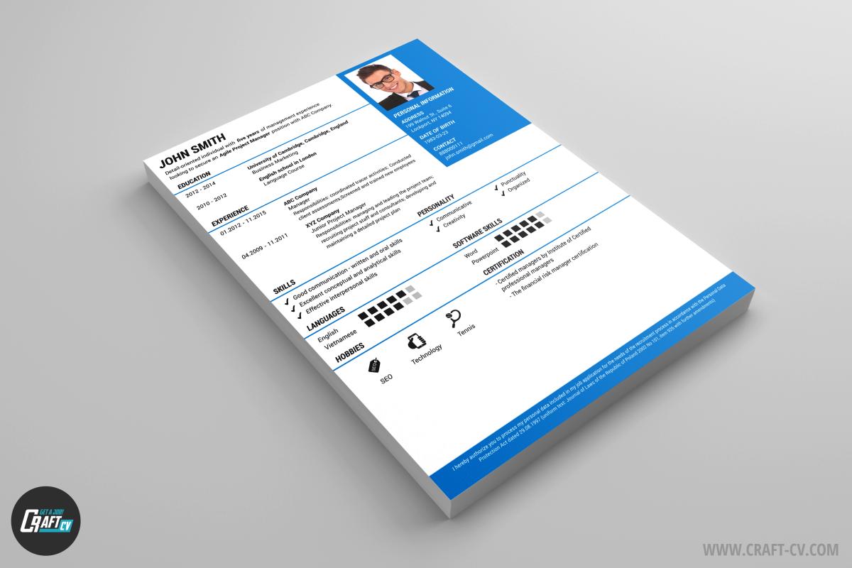 Modelli Di CV Creativi Da Scaricare Crea Un CV Efficace