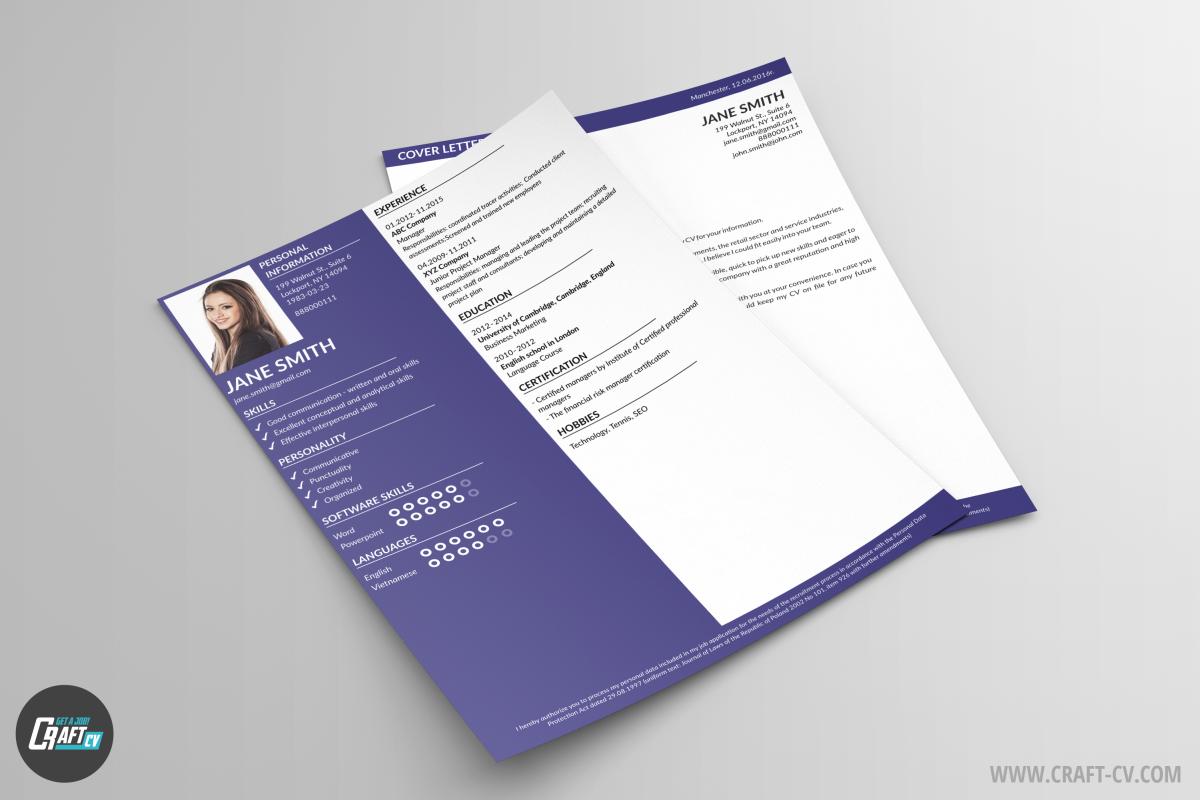 CV Voorbeeld Shen | Sollicitatiebrief voorbeeld | CraftCv